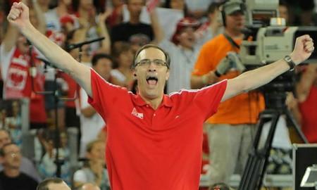Daniel Castellani triumfujący
