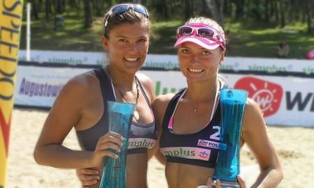 x - [stare] Simplus Cup: Magdalena Michoń-Szczytowicz i Kinga Kołosińska