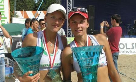 x - [stare] Simplus Cup 2009: Katarzyna Urban, Joanna Wiatr