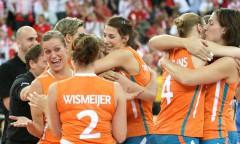 Mistrzostwa Europy kobiet 2009, półfinały, Polska - Holandia