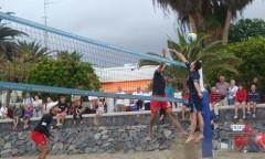 x - [stare] siatkówka plażowa, Teneryfa