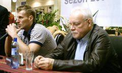 Piotr Lipiński i Waldemar Wspaniały na konferencji