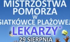 Mistrzostwa Pomorza Lekarzy w Siatkówce Plażowej 2010