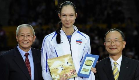 Jekatierina Gamowa (MVP MŚ 2010)