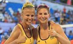 Jagoda Gruszczyńska i Katarzyna Kociołek (2013)