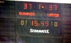 Kwal. do ME M: Słowenia - Łotwa
