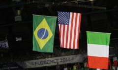 Liga Światowa - finał: USA - Brazylia