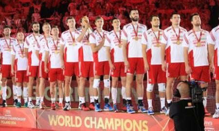 reprezentacja Polski - mistrz świata 2014