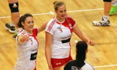 Katarzyna Bryda i Alicja Leszek (ŁKS)