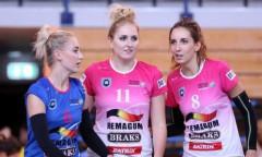 Silesia Volley - Ewa Borowiecka, Zuzanna Berkowska, Izabela Soja