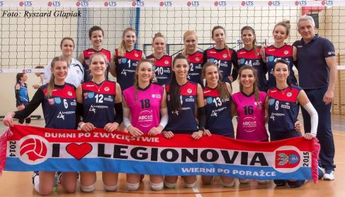 Legionovia Legionowo - juniorki (2015/2016)