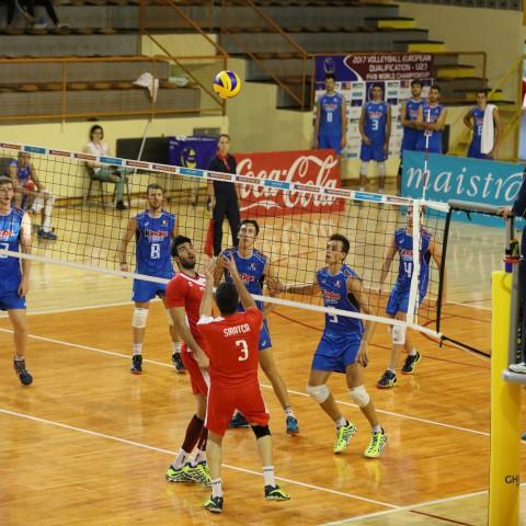 Turcja U-23 M - Włochy U-23 M kwalifikacje MŚ u-23 (2016)