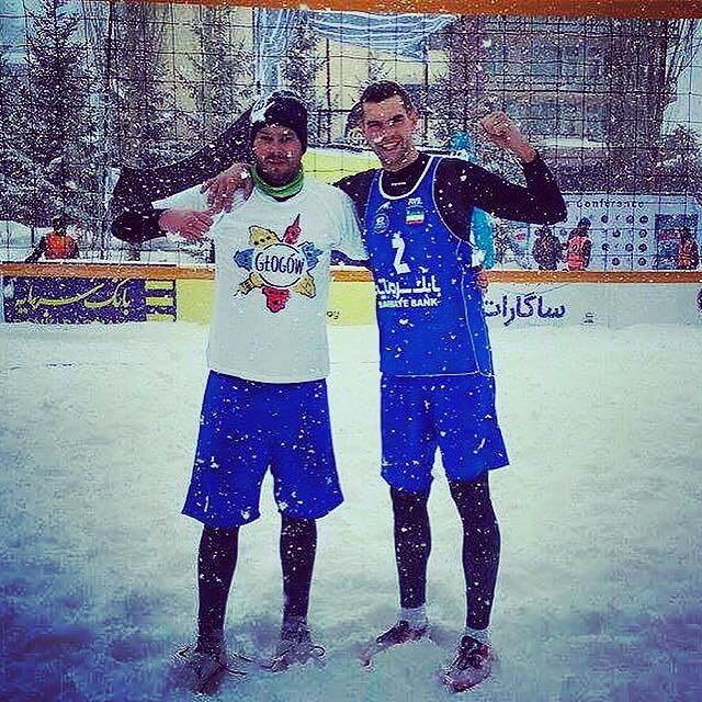 Michał Matyja, snow volley, śnieg